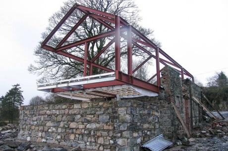 Дом из каменного сарая в Северной Ирландии