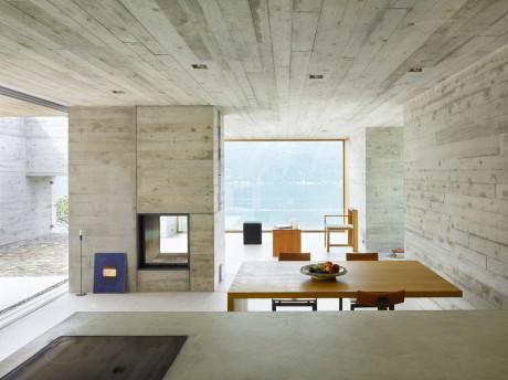 Новый бетонный дом (New Concrete House) в Швейцарии от Wespi de Meuron Architekten.