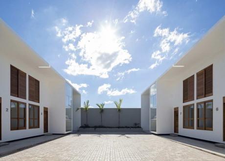 Дома AV (AV Houses) в Бразилии от Corsi Hirano Arquitetos.