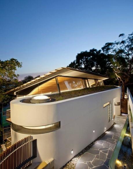 Дом Ангофора (Angophora House) в Австралии от Richard Cole Architecture.