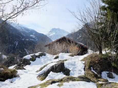 Деревянная дача в Швейцарии
