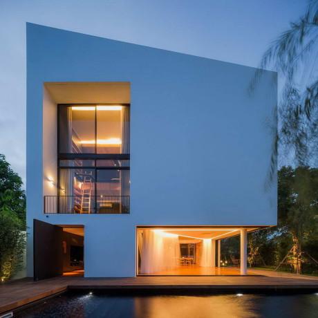 Угловой дом (Baan Moom) в Таиланде от IF.