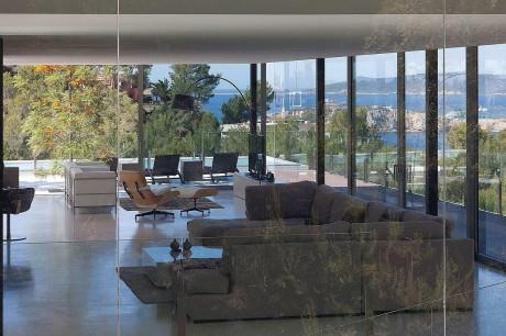 Дом CAN MANA в Испании от Atelier d'Architecture Bruno Erpicum & Partners.