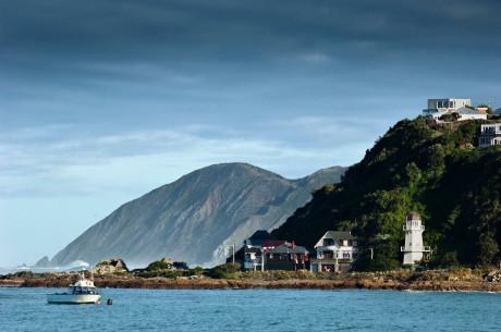 Дом на холме в Новой Зеландии