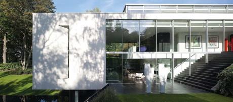 Дом GENETS 3 (GENETS 3 House) В БельгиИ ОТ Atelier d'Architecture Bruno Erpicum & Partners (AABE).