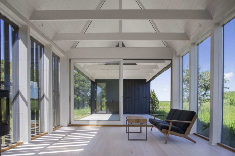 Деревянная дача в Швеции