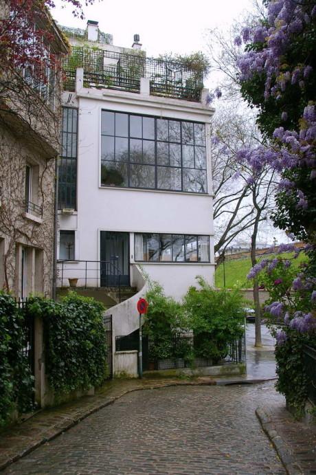 Дом-студия Озанфана (Ozenfant House and Studio) во Франции от Ле Корбюзье (Le Corbusier).