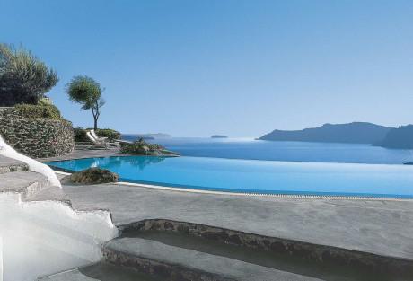 Отель Периволас Ия (Perivolas Oia Santorini) в Греции.
