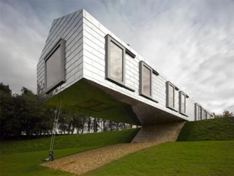 Особенности проектирования домов на рельефе