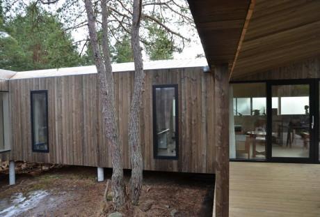 Квадратный дом Вейерланд (Square House Veierland) в Норвегии от Reiulf Ramstad Arkitekter AS.