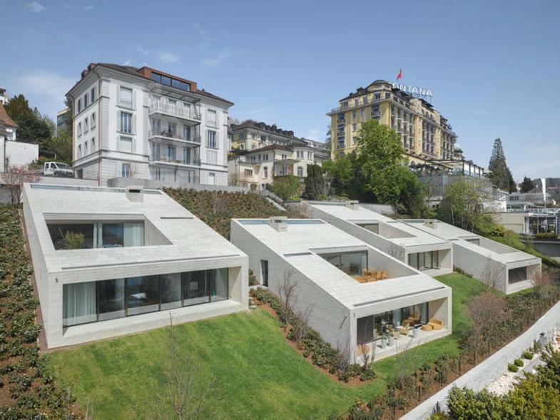 Четыре виллы в Швейцарии