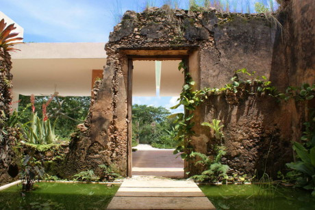 Фазенда Бакок (Bacoc Hacienda) в Мексике от Reyes Rios + Larrain Arquitectos.