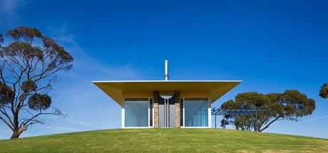 Дом Баросса (Barossa House) в Австралии от Max Pritchard Architect.