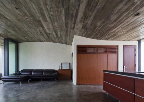 Дом Тхань Бинь (Binh Thanh House) во Вьетнаме от Vo Trong Nghia Architects и Sanuki + Nishizawa.