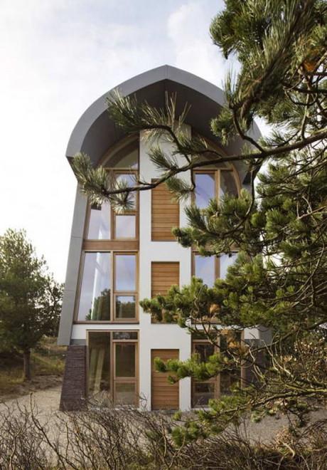 Дом Дюна (Dune House) в Голландии от Min2.