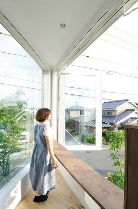 Лесной дом в городе (Forest House in the City) в Японии от Studio Velocity.