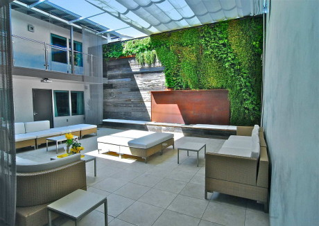 Отель Seven4one (Hotel Seven4one) в США от Horst Architects.