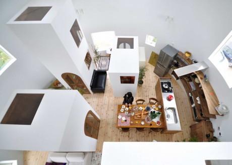 Дом в Чихарада (House in Chiharada) в Японии от Studio Velocity.