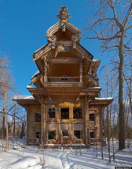 Дом в Чухломском районе (House in Chuhloma) в Костромской области.
