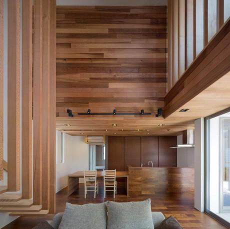 Дом М4 (M4 House) в Японии от Architect Show Co.