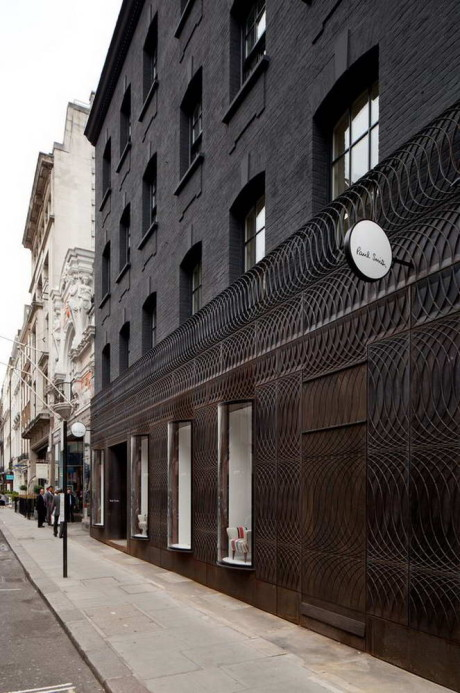 Paul Smith Albemarle Street store facade 8