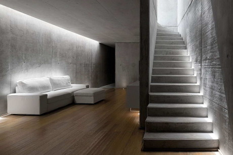 Дом Раинья (Rainha) в Португалии от Atelier d'Architecture Bruno Erpicum & Partners.