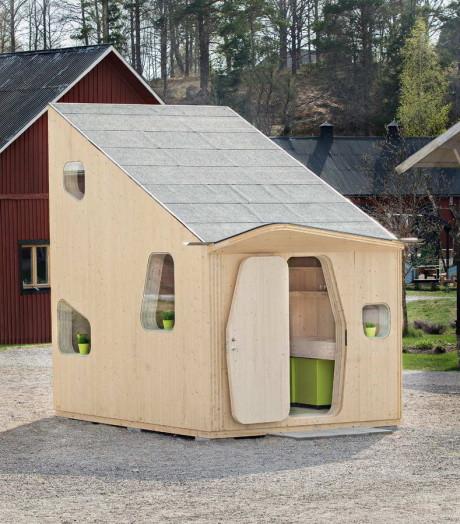 Микро-дом для студентов в Швеции