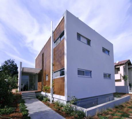 Дом в долине (Valley House) в Израиле от Arbejazz Studio Architects.