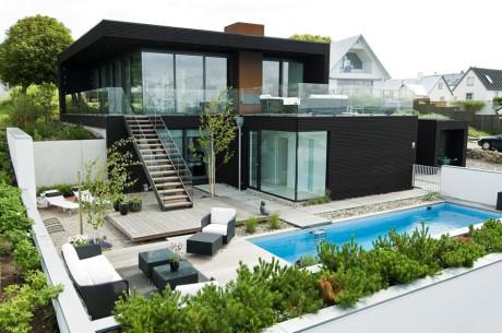 Дом у моря в Швеции