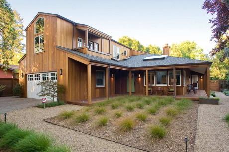Обновление дома (Wine Country Renovation) в США от Marcus & Willers Architects.