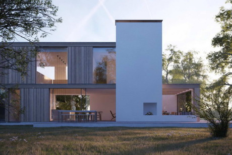 "Дом ""Дятлы"" (Woodpeckers) в Англии от Strom Architects."