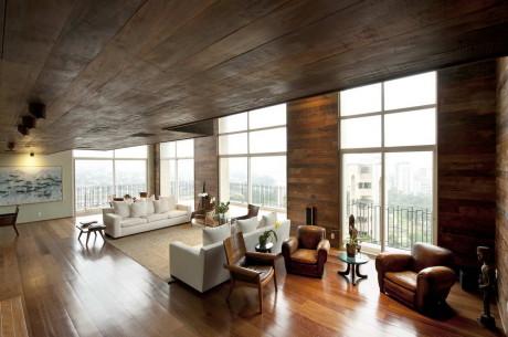Квартира в Сан-Паулу в Бразилии от Carlos Motta.