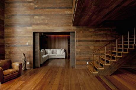 Деревянная квартира в Сан-Паулу