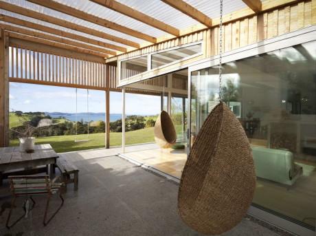 Дом Брик Бэй (Brick Bay House) в Новой Зеландии от Glamuzina Paterson Architects.