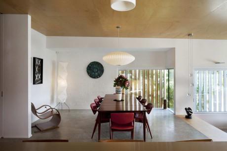 Дом Браун Вуйчич (Brown Vujcich House) в Новой Зеландии от Bossley Architects.