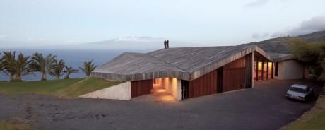 Дом на вершине скалы (Clifftop House) в США от Dekleva Gregoric.