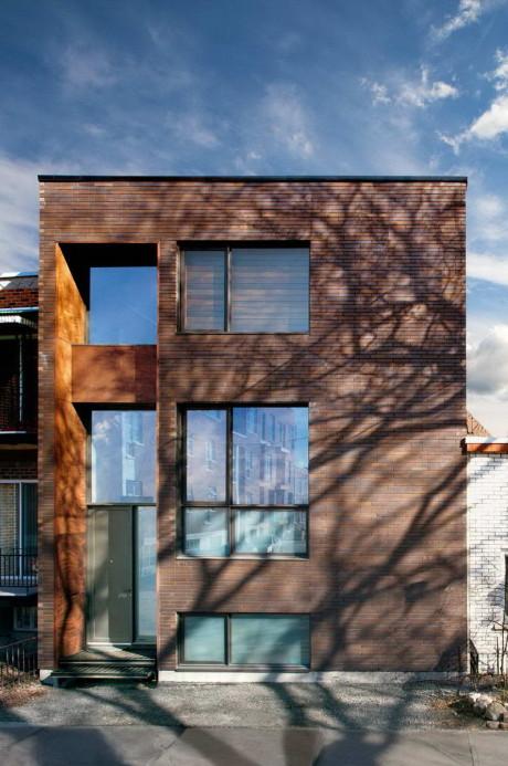 Дом Е3 (E3 House) в Канаде от Natalie Dionne Architecte.