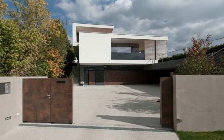 Дом SK (Haus SK) в Австрии от Two in a box – Architekten ZT GMBH.