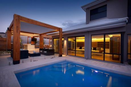 Дом Хилларис (Hillarys) в Австралии от Ritz Exterior Design.