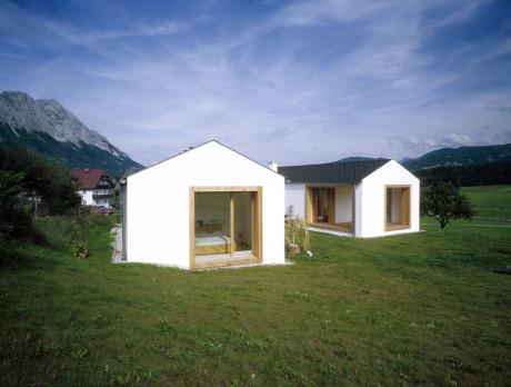 """Дом """"W"""" (House W) в Австрии от HPSA."""