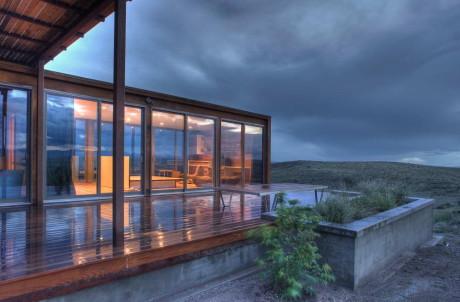 Крошечный дом (Marfa weeHouse) в США от Alchemy Architects, Geoffrey Warner, AIA.