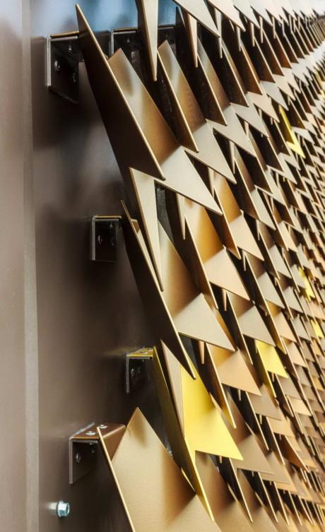 Инновационный навесной фасад в Лондоне