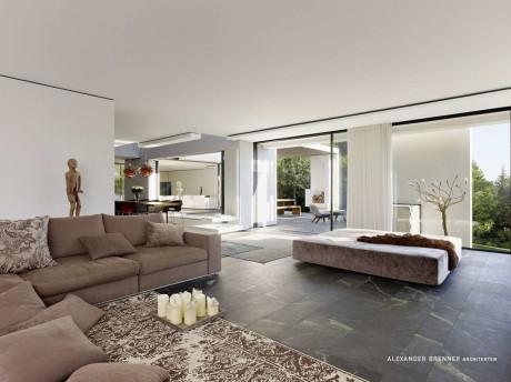 Дом SU (SU House) в Германии от Alexander Brenner Architekten.