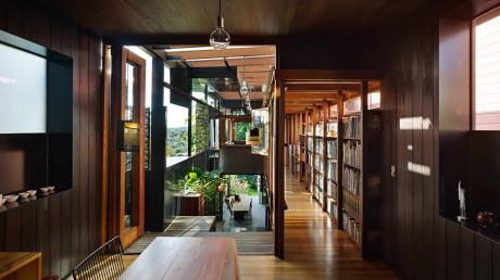 Узкий дом в Австралии