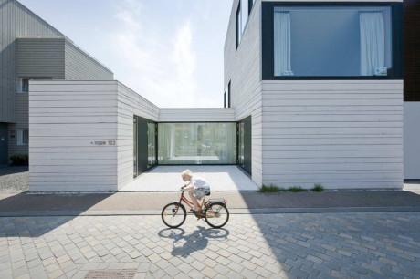 Городская вилла (Urban Villa) в Голландии от Pasel.Kuenzel Architects.