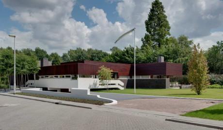 Дом Ван Бюхем (Van Buchem House) в Голландии от Jaap Bakema и Siebold Nijenhuis Architect.