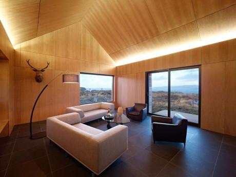 Дом Borreraig (Borreraig House) в Шотландии от Dualchas Architects.