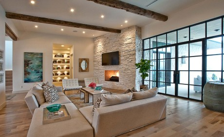 Резиденция Cat Mountain (Cat Mountain Residence) в США от Cornerstone Architects.