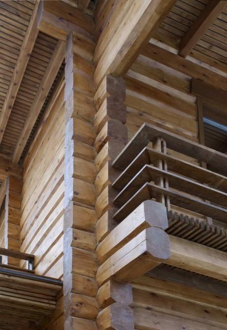 Дача в поселке НИЛ (Cottage in the village of NIL) в России от Архитектурной мастерской Белоусова Н.В.