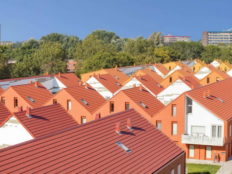 Дома вокруг двора (Court Housing) в Голландии от Architecten|en|en.